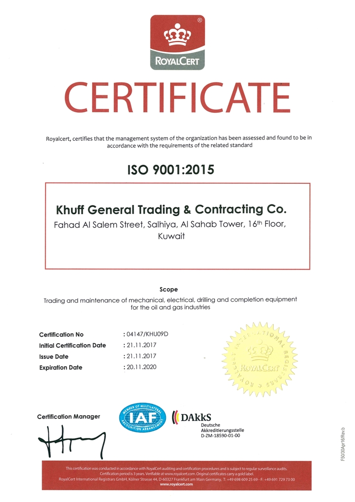 Home - Khuffenergy- Khuff Genral Trading & Contracting Co  شركة خف